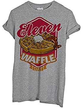 T-Shirt STRANGER THINGS - ELEVEN WAFFLE DAY - FILM by Mush Dress Your Style