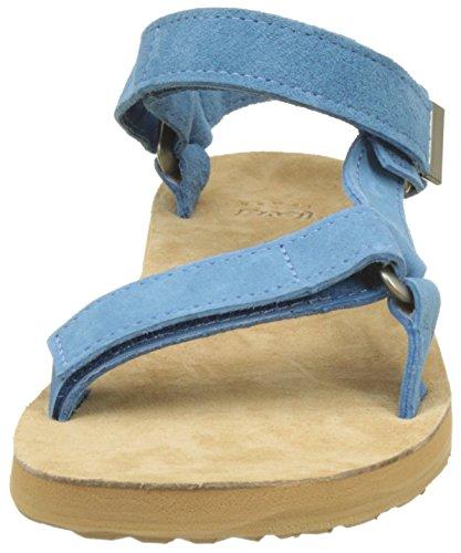 TevaOriginal Universal Suede W's - Sandali con tacco donna Blu (Blue)
