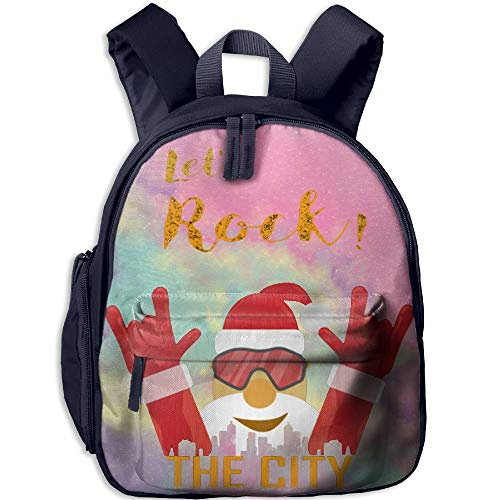 Rock Kid and Toddler Casual Backpack College School Bag Travel Daypack