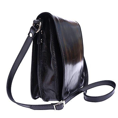 Aktentasche mit Schulterriemen 6515 Schwarz