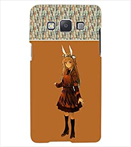 ColourCraft Girly Back Case Cover for SAMSUNG GALAXY E7