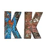 Recycled Holzbuchstaben (K)