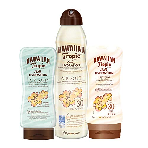 Hawaiian Tropic - Silk Pack - Crema Solar Loción
