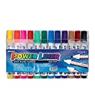 #1: Mungyo White Board Markers MA-12A (Pack of 12 Colours) - Assorted shades