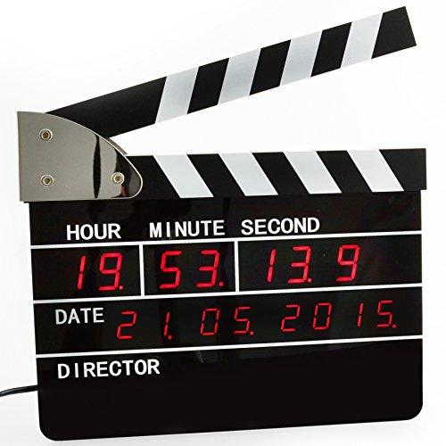 Express Panda Reloj despertador Digital claqueta - edición de directores