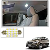 #9: Vheelocityin 16 SMD LED Roof Light White Dome Light for Toyota Innova