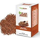 #8: Nutroactive Natural Whole Flax Seeds 270G