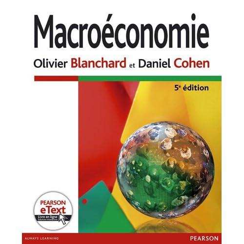 Macroéconomie 5e Ed. + eText