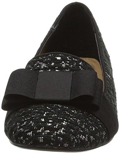 Miss KG 7731505609, Ballerine Donna Nero (Black/Comb)