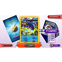 WHISCASH reverse holo Alf Art 41/160 110HP XY05 PRIMAL CLASH - Optimized THUNDERBOLT booster cards - 10 English Pokemon trading cards