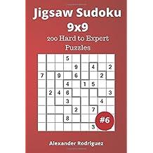 Jigsaw Sudoku Puzzles - 200 Hard to Expert vol. 6