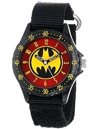 5fe217dbb52 Batman Kids  BAT5036 Time-Teaching Batman Watch with Black Canvas Band