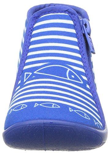 Be Only Timouss, Chaussons Montants Doublé Chaud Mixte Enfant Bleu (Bleu électrique)
