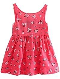 Free Fisher Kinder Mädchen Klassisches Sommerkleid