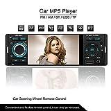 ATian 4.1 pollice 1080p In-Dash radio, Bluetooth, MP3/MP4/MP5/USB/SD AM/FM supporto autoradio USB SD Ingresso AUX telecomando senza fili
