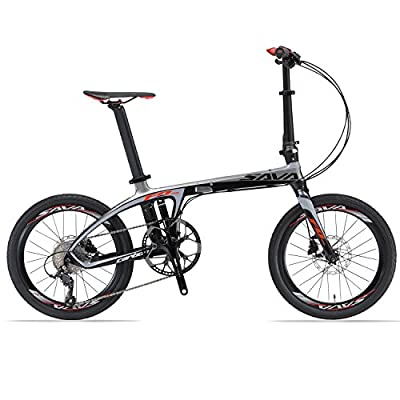 SAVA 20inch Carbon Fiber Folding Bike 9-Speed by SAVA - Review