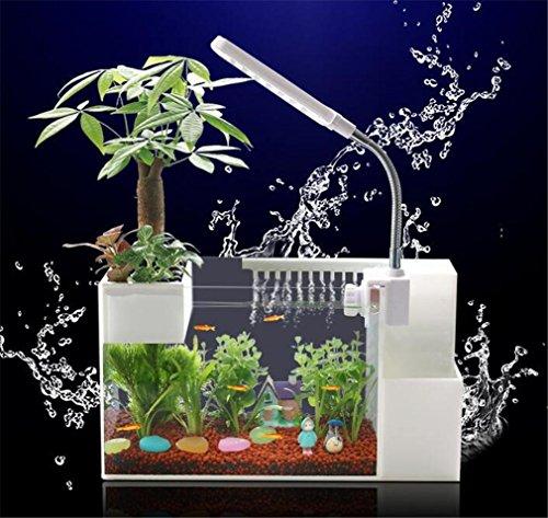 4L USB Desktop alimentazione interna Filtro LED Lighting acrilico creativo