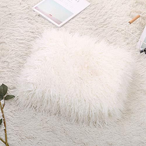 SIKESONG Super Weiches Lange Flauschige Fuzzy Warme Und Elegante Komfortable Decke Hausrat Weiß (Fuzzy-decke Weiß)