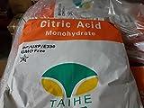 Zitronensäure - 25kg Lebensmittelqualität, E330, Entkalker Granulat, Großgebinde
