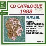 Maurice RavelCatalogue Erato 1988