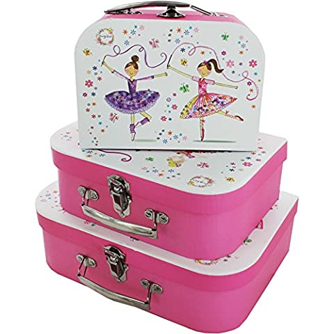 Robert Frederick Daisy Patch Ballerinas and Fairies Carrycase Set, Plastic, Assorted