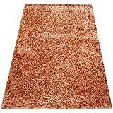 Orientteppich Schaggy handgeknüpft Langflor ca. 150x100 Rot/Gold ETFA