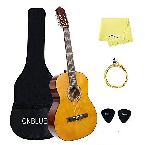 Classica chitarra 3 4 principiante kit chitarra classica 36 pollici bambini  con tutti accessori ( f6cda3fcb9ed