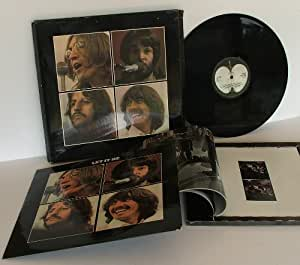 the beatles let it be box set with the book the beatles get back px51 not listed on package. Black Bedroom Furniture Sets. Home Design Ideas