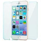 Zanasta 2x Verre trempé iPhone 8 Plus/7 Plus (5,5) Protecteur d'écran Film Protection | HD Clair Transparent (1x Verre avant et 1x arrière)