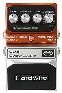 HardWire Delay Looper HDL8 Pédale d'effet pour Guitare Orange