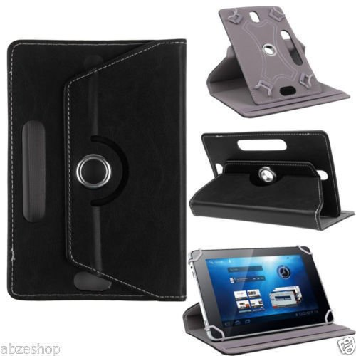 SMM Black Tablet Flip Cover With Stand For Micromax Canvas P480 3G (Universal) (FREE OTG)  available at amazon for Rs.242