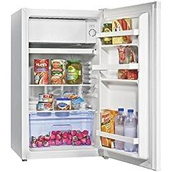 Hisense RR130D4BW1 Freestanding 100L A+ White combi-fridge - combi-fridges (Freestanding, White, Right, 100 L, 102 L, N-ST)