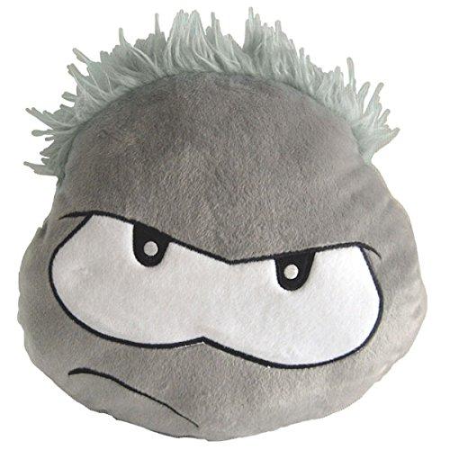 Disney Club Penguin Puffle Cushion - Grey