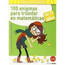 100 Enigmas Para Triunfar En Matematicas (Terapias Juegos Didácticos)