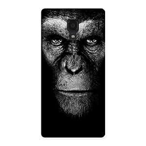Impressive Black King Chimp Back Case Cover for Redmi 1S