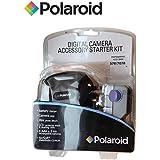 Kit Piles rechargeables AA et AAAPolaroid Appareil photo numérique Accessoire Kit de démarrage comprenant 4piles AAA (1,2V/85mA) & 2x piles AA (1800mAh/1,2V/180mA) Piles rechargeables NiMH, Chargeur Britannique, étui pour appareil photo Polaroid, Mini Album photo, protecteur d'écran LCD, chiffon de nettoyage et logiciel Arcsoft PhotoStudio pour Mac ou PC, pour appareil photo ou caméscopes Compatible avec Canon, Vivitar, Polaroid, Fuji, Sony, Olympus, Kodak et de nombreux autres appareils numériques