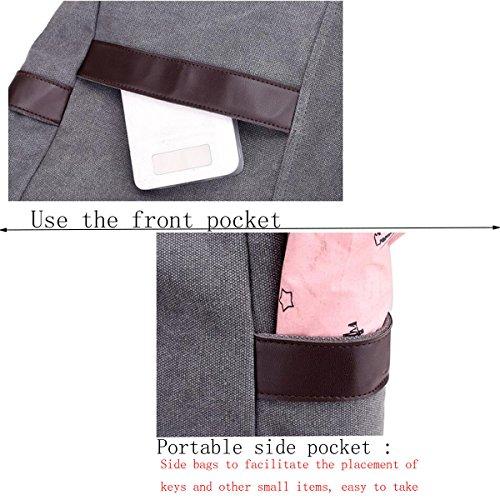 Damen-Segeltuch-Beutel-Art Und Weise Einfache Schulter-Beutel-beiläufige Großverkauf Einkaufstasche-Handtasche A
