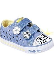 Zapatillas para ni�a, color Azul , marca SKECHERS, modelo Zapatillas Para Ni�a SKECHERS SHUFFLES FRILLSEEKER Azul