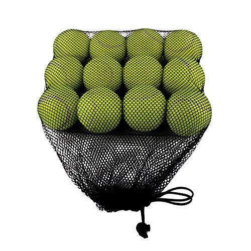 AZXAZ Pelotas Tenis Paquete 12 Balones Práctica Tenis