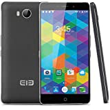 "Elephone P9000 Lite - Smartphone libre 4G (Pantalla 5.5"" FHD, Android 6.0 Octa-core 2.0GHz, 4GB RAM 32GB ROM, Cámaras Duales 5.0 Mp + 13.0 Mp, Dual SIM, E-compass, Función OTG), Negro"