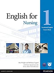 Vocational English Level 1 English for Nursing Coursebook (with CD-ROM incl. Class Audio)