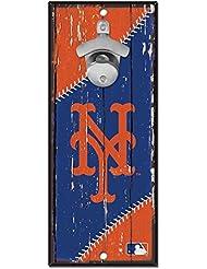 Wincraft MLB New York Mets Plaque avec décapsuleur