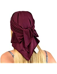 Jasmine Silk Unisex Silk Bandana - Suitable for Chemo & Hair Loss - Cardani Chemo Cancer Hat