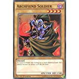 YuGiOh : YS15-END02 1st Ed Archfiend Soldier Common Card - ( Yula and Declan Yu-Gi-Oh! Single Card )