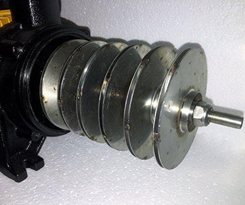 Mehrstufige Kreiselpumpe megafixx HMC6SC 1350 Watt bis 6,5 BAR - 6 Stufen - Laufräder aus Edelstahl -