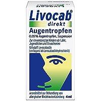 Livocab direkt Augentropfen 4 ml by Johnson & Johnson preisvergleich bei billige-tabletten.eu
