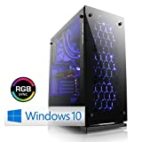 CSL Speed X4975 (Core i7) 4K Gaming PC inkl. Windows 10 - Intel Core i7-8700K 6X 3700MHz, 16GB DDR4 RAM, 275GB SSD, 2000GB HDD, GeForce GTX 1080 Ti, DVD, USB 3.1 Gen 2