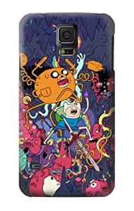 S0964 Adventure Time Coque pour Samsung Galaxy S5