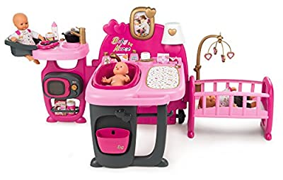 Smoby 220327 Baby Nurse Doll Play Centre Pink