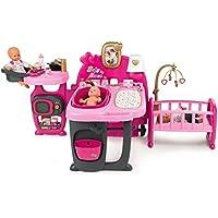 Smoby - 220327 - Baby Nurse - Grande Maison des Bébés - 3 espaces de Jeux - 23 Accessoires